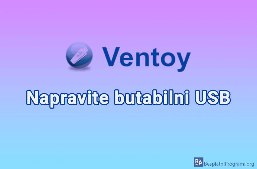 Ventoy – napravite boot-abilni USB
