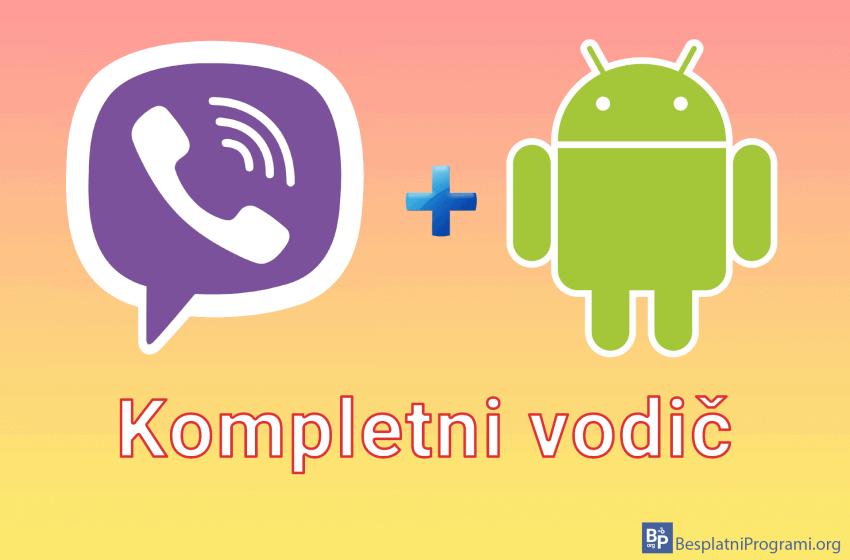 Viber za Android – kompletni vodič