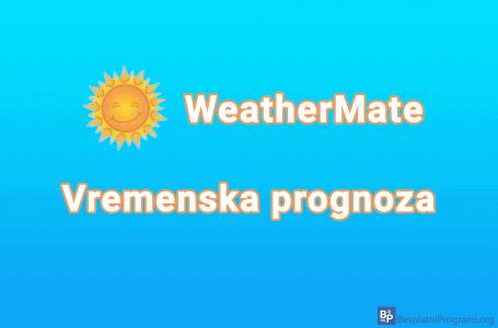 WeatherMate – vremenska prognoza