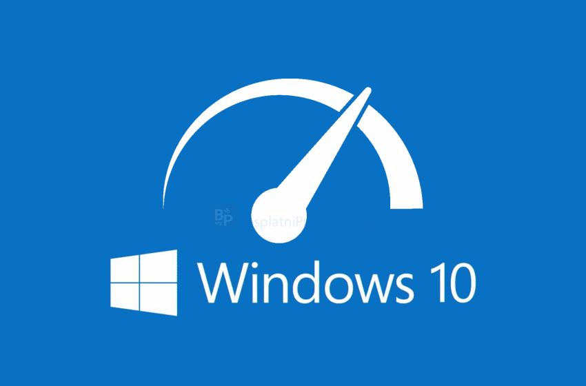 Kako povećati brzinu računara pod Windows 10